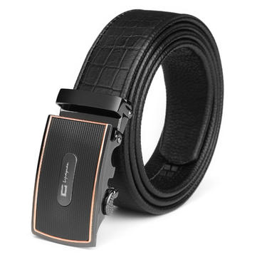 120CM Brand C Men Belt First Layer Cowhide Business Automatic Buckle Model 005