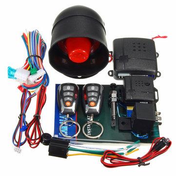 Автосигнализация L202 LED Universal One-Way Smart