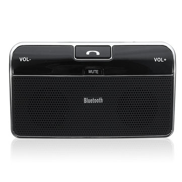 Silm Wireless Bluetooth Hands Free Speaker Phone MP3 Car Kit Sun Visor Clip Drive