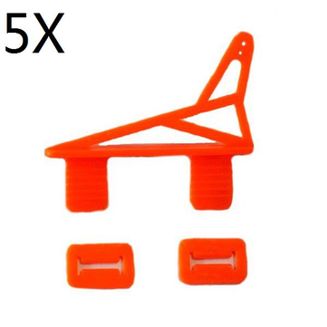 5Pcs Ultralight Triangle Servo Horn 50x25x12mm For KT Board RC Airplane