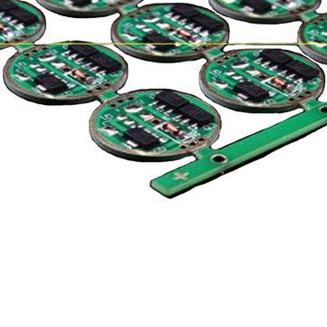 1A Bateria 7135 X 3 Single Lithium Drive Board para lanterna