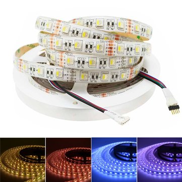 Buy 5M RGBW RGBWW 4 In 1 SMD5050 Waterproof LED Strip Light for Home Decoration DC12V for $18.59 in Banggood store