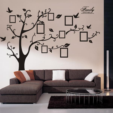 Memory Tree Photo Wall Sticker Living Room Home Decoration Creative Decal DIY Mural Wall Art