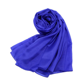 Buy LYZA Women Solid Silk Scarf Shawl 200*140CM Oversize Design Scarves Wraps Sunshade Shawls for $10.99 in Banggood store