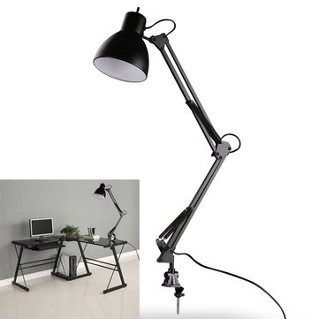 clamp mount lamp e27 e26 ac85 265v. Black Bedroom Furniture Sets. Home Design Ideas