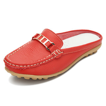US Size 5-11 Women Summer Flats Sandal Shoes Comfortable Casual Soft Slip On Flats Slipper Shoes