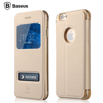 BASEUS Double Window View Bracket Flip Чехол для iPhone 6 6S