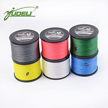 YUDELI 1000M PE 4 Braided Fishing Line Bait Lure Accessory ...