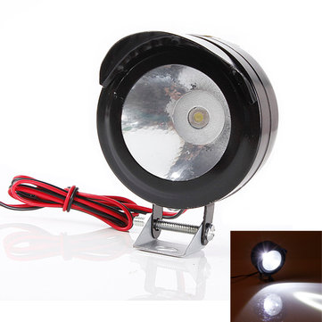 12v 24v 5w motorcycle e bike led spot head light spotlight us. Black Bedroom Furniture Sets. Home Design Ideas