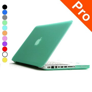 Cover Logo Frosted Surface Matte Hard Cover Laptop beschermhoes voor Apple Macbook Pro 15,4 inch