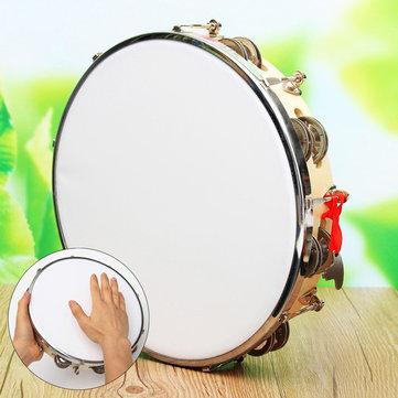 ポリエステルレザーパンデイロドラムタンバリンサンバブラジル木楽器