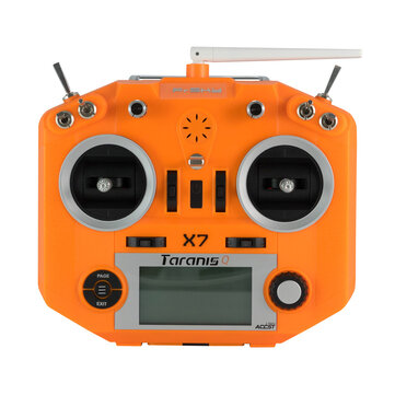 FrSky ACCST Taranis Q X7 2.4GHz 16CH Transmitter White Blue Orange Green Purple for RC Racing Drone