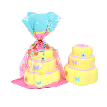 Kiibru Squishy Butterfly Cake 11cm Soft Slow Rising With Packaging Collection Gift Decor Toy