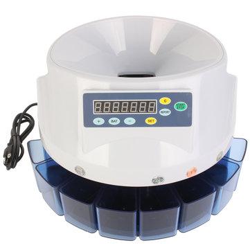 Automatic Digital Electronic เหรียญสหรัฐเครื่องนับเครื่องนับเงิน LED แสดงผล
