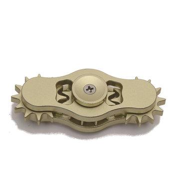 Gear Fidget Hand Spinner Aluminum Alloy EDC Attention Reduce Stress Toys Fingers Gyro Children Gift