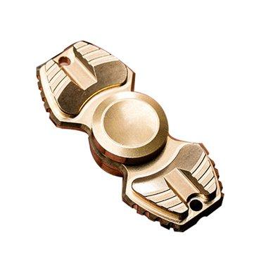 ECUBEE Girador de mano de latón Finger Spinner Gadgets 3-5min Fidget Spinner Gadget
