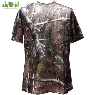 TRUE ADVENTURE Men Hunting T-shirt Summer Breathable Jersey