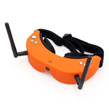 Skyzone SKY01S Upgraded 5.8G 48CH FPV Goggles Auto Search Video Headset With Front Camera
