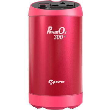T300 Car Power Invreter USB 2.4A AC Charger Anion Air purification
