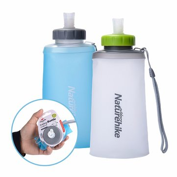 Naturehike Folding Silicone Water Bottle Outdoor Sports Drinkwaterkoker Draagbare Watertas