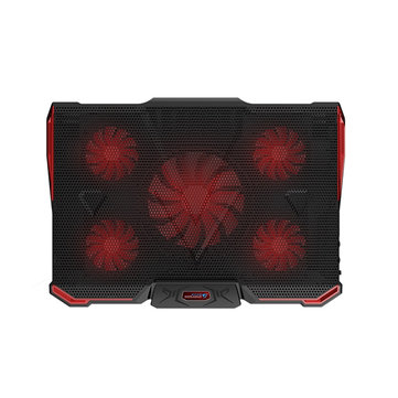 Ice 4 Notebook Cooling Pad 5 Fans 2 USB Laptop Cooler Stand