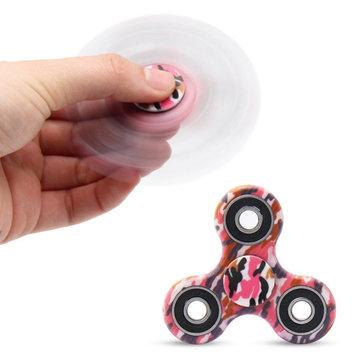 ECUBEE ABS EDC Fidget SpinnerハンドスピナーガジェットTri-Spinner Finger Focusストレスガジェットを減らす