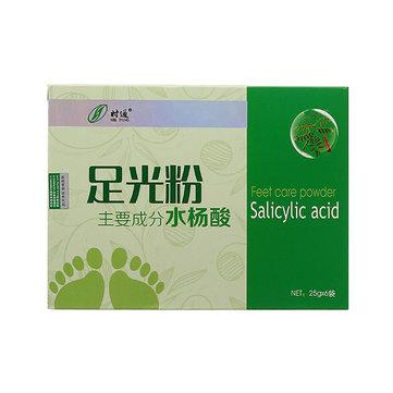 Herbal Feet Care Powder Salicylic Acid Foot Bath Spa Sterilizing Relieving Itching Beriberi