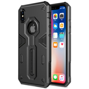 NILLKIN Shockproof Armor Defender PC+TPU Back Case for iPhone X