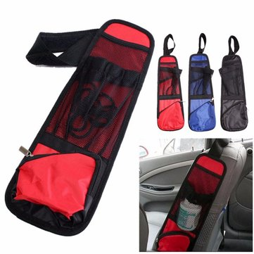 Car Seat Side Back Storage Vehicle Multi Pocket Holder Organizer String Bar