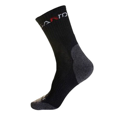 Hombres Transpirable Deporte Running calcetines Casual Soft Tubo medio Color sólido calcetines