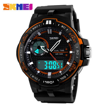 skmei 1070 analog digital multi function rubber band men sport skmei 1070 analog digital multi function rubber band men sport watch