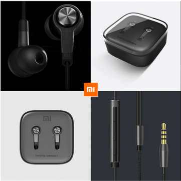 Original Xiaomi Piston 3 Reddot Design Earphone For Smartphone