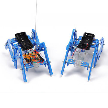 Hexapod Robot DIY Puzzle Robot Kit Assembly Model