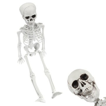 Adult Skull Skeleton Horror Haunted House Simulation Human Body Decoration Halloween Supplies Toys