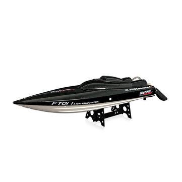 FeilunFT01165CM2.4GブラシレスRCボート、バッテリーなしの高速レーシングボート