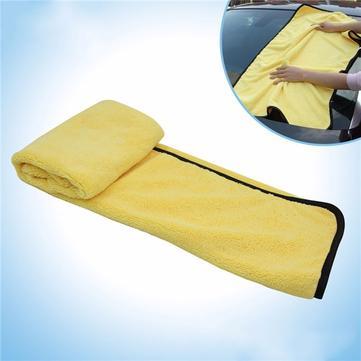 Tirol toalla de limpieza del coche de microfibra súper coche grande multifuncional paño de lavado 92 * 56cm