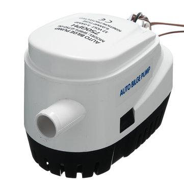 12V/24V 750GPH Automatic Bilge Boat Pump Water Pump with Internal Float Switch