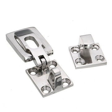 Stainless Steel Marine Boat Door Locker Hatch Anti-Rattle Latch Fastener Clamp