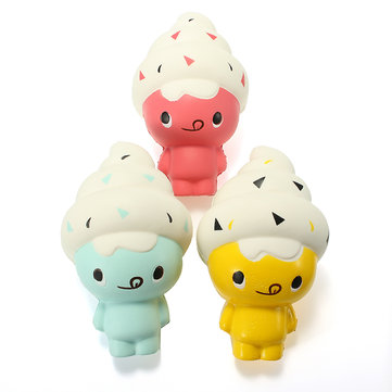 Squishy Ice Cream Doll 13cm Soft Slow Rising Cute Kawaii Collection Gift Decor Toy