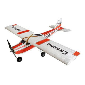 Cessna 960mm 윙스 팬 EPP 폴리 우드 훈련 RC 비행기 키트