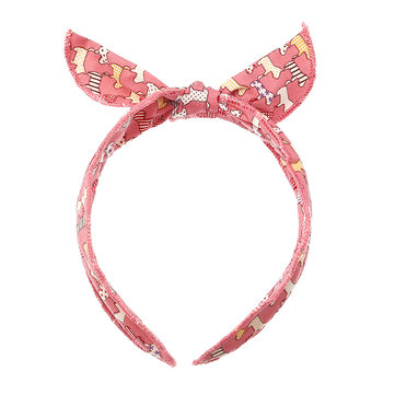 Cute Adjustable Fabric Headbrand Colorful-cartoon Animals Bowknot Kid's Hair Accessories