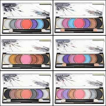 7 Colors Makeup Cosmetic Eyeshadow Powder Palette with Brush