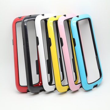 Dual Color PC TPU Bumper Frame Case For SAMSUNG Galaxy S7392