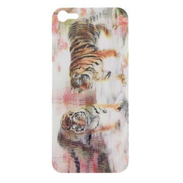 3D Effect Zuid-China Tigers Back Screen Protector Voor iPhone 5