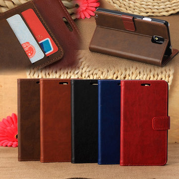 Retro Protective Wallet Leather Stand Case For Samsung Note 3 N9000