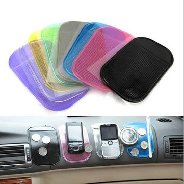 Anti-Slip Car Dashboard Sticky Pad Niet-slip Mat sleutel houder voor iPhone Sumsang