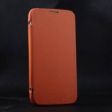 Hakiki Deri Koruyucu Kılıf için Samsung Galaxy Mega 5.8 I9150