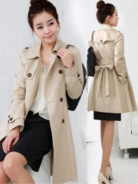 Zanzea® Peacoat Double Breasted Trench Coats