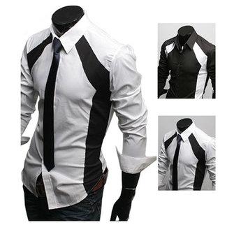 2013가을남성캐주얼슬림맞는 세련된 드레스 긴 소매 셔츠