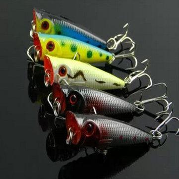 abordar el bajo señuelo pez pequeño caliente cebos duros pesca biomimetismo